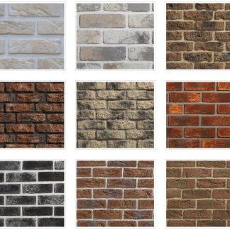 Betónové tehlové obklady
