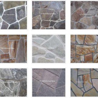 Nepravidelné kamenné obklady